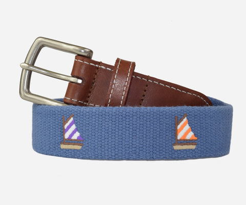 Sailboat Belt (moonlight blue)