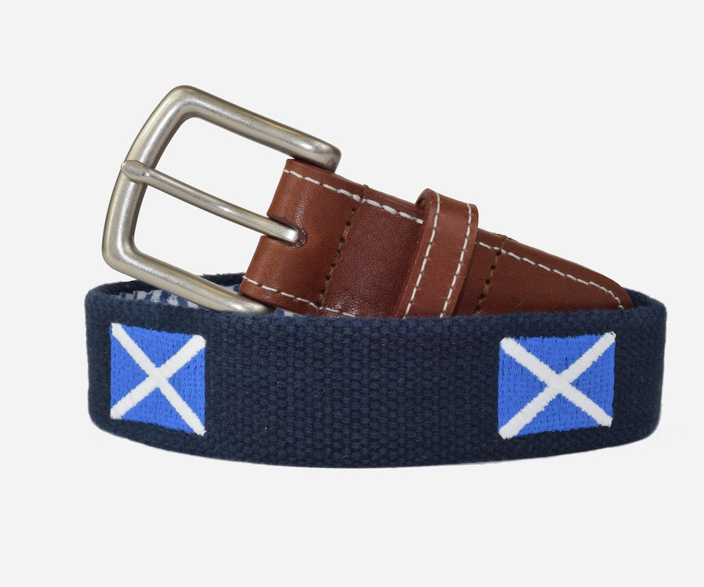Scottish Flag Belt (patriot navy)