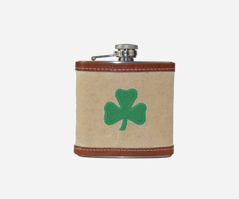Shamrock Flask (natural)