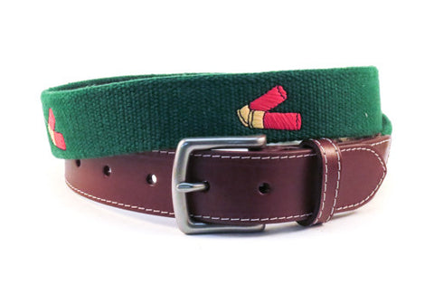 Shotgun Shells Hunting Belt (erin green)