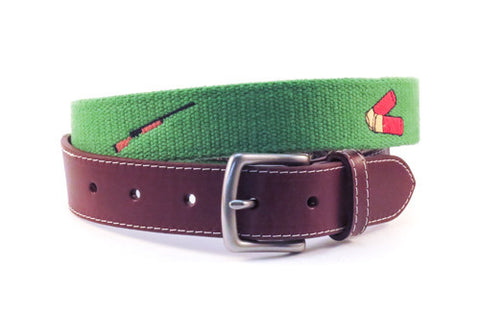 Shotgun and Shells Hunting Belt (kerry green)