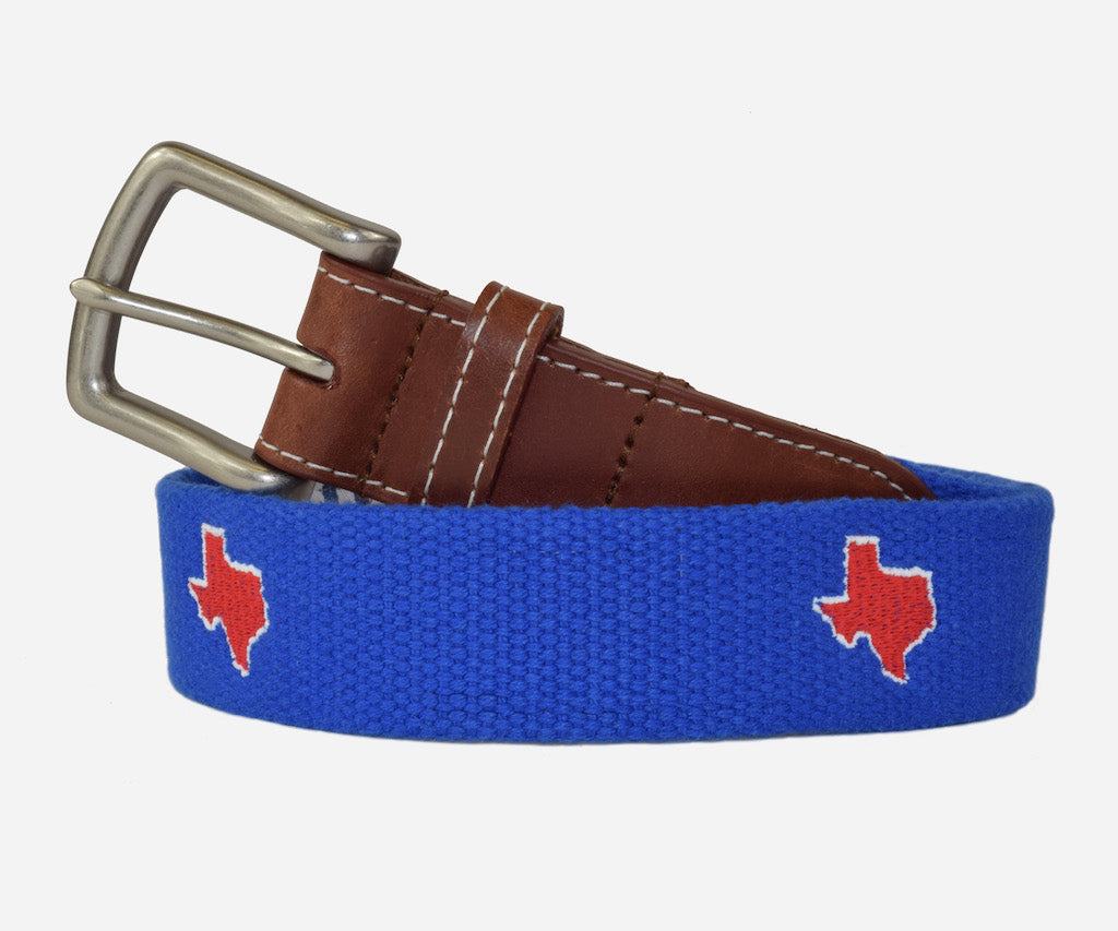 Texas Tailgate - Blue & Red