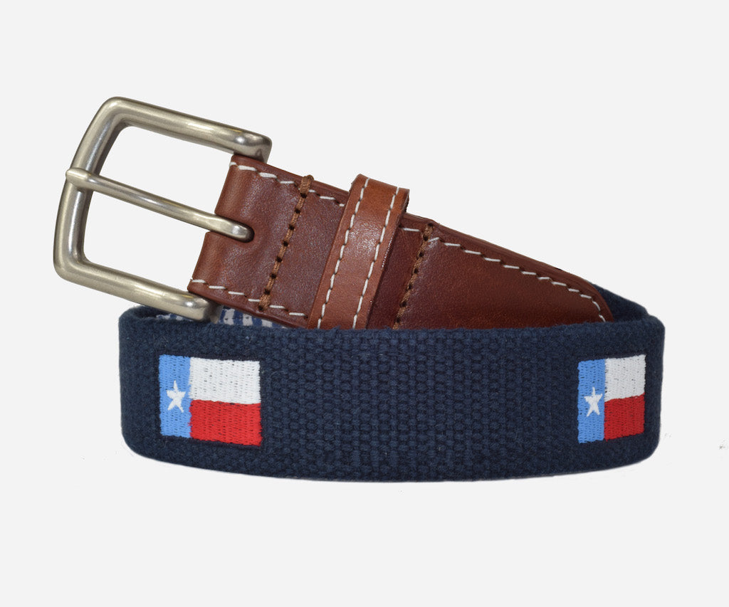 Texas Flag Belt (patriot navy)