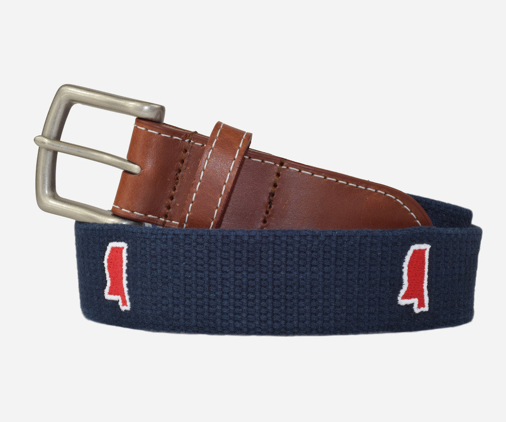 Mississippi Tailgate - navy & red