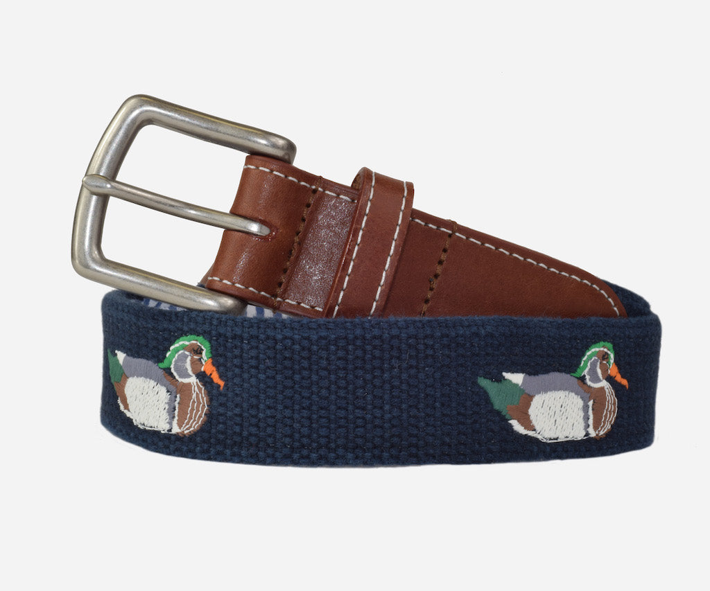 Wood Duck Belt (patriot navy)