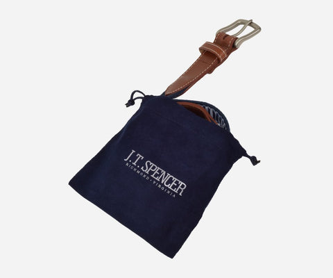 Nantucket Island Belt (patriot navy)