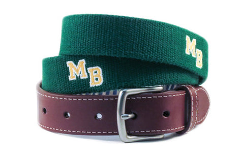 Myrtle Beach High School Belt - Myrtle Beach, SC (green)