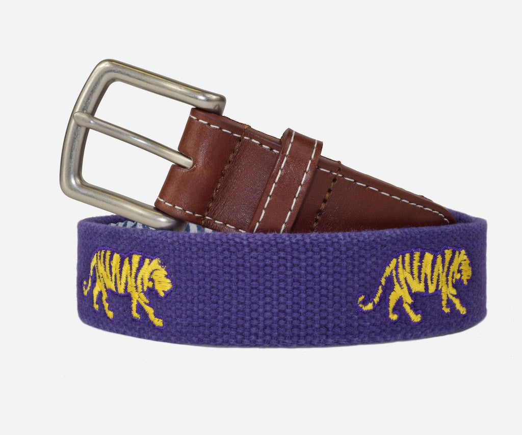 Peter Millar Louisiana State University - LSU Belt