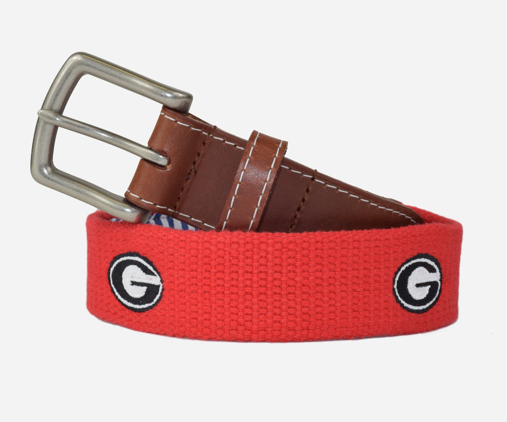 Peter Millar University of Georgia Belt - UGA