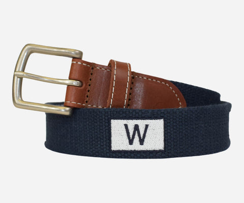 "Peter Millar Chicago Cubs ""W"" Flag Belt"