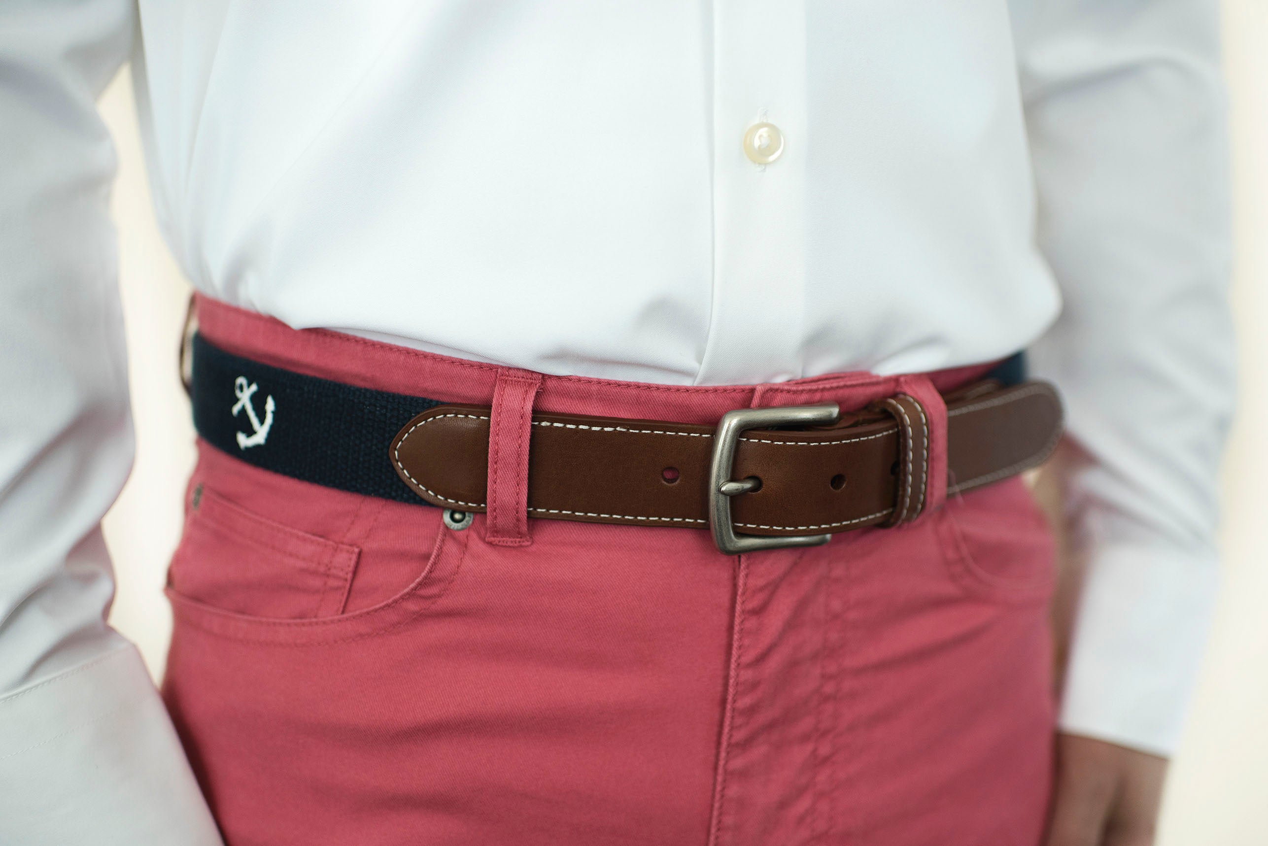 Anchor Belt (patriot navy)
