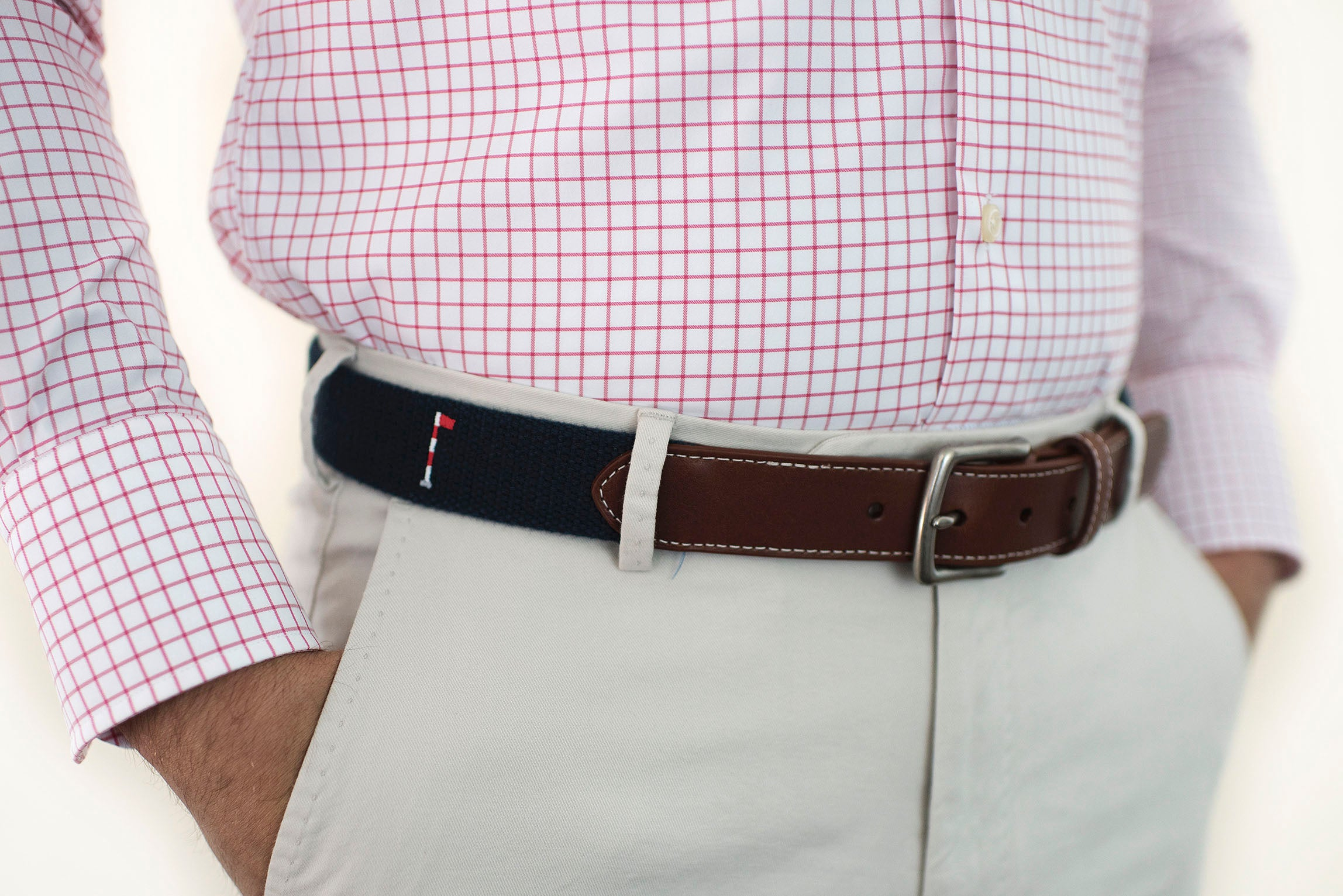 Back Nine Golf Belt (patriot navy)