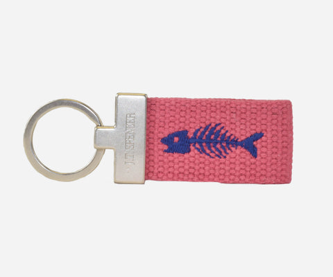 Bonefish key fob (nantucket red)