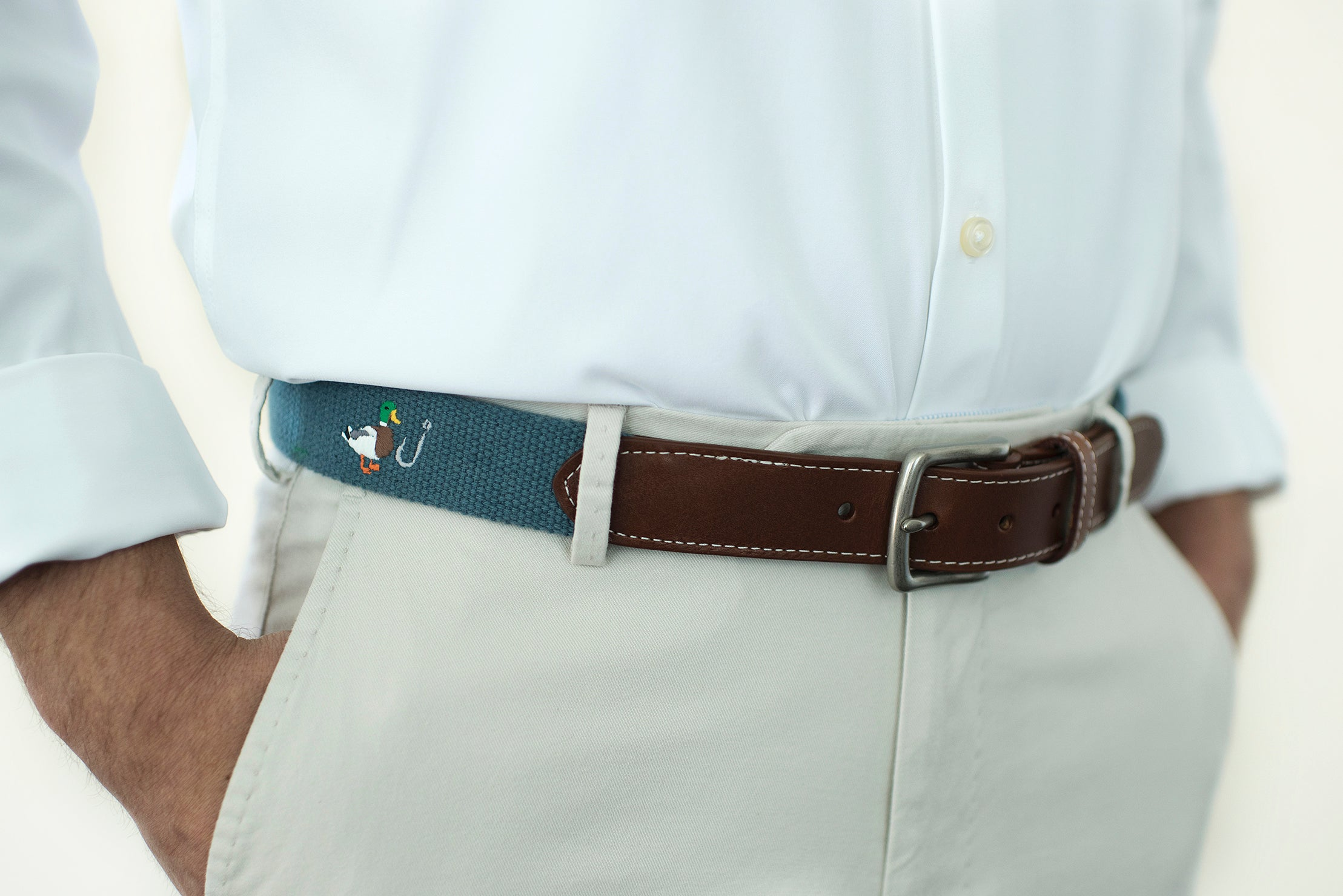 Duck Hook Golf belt (slate)