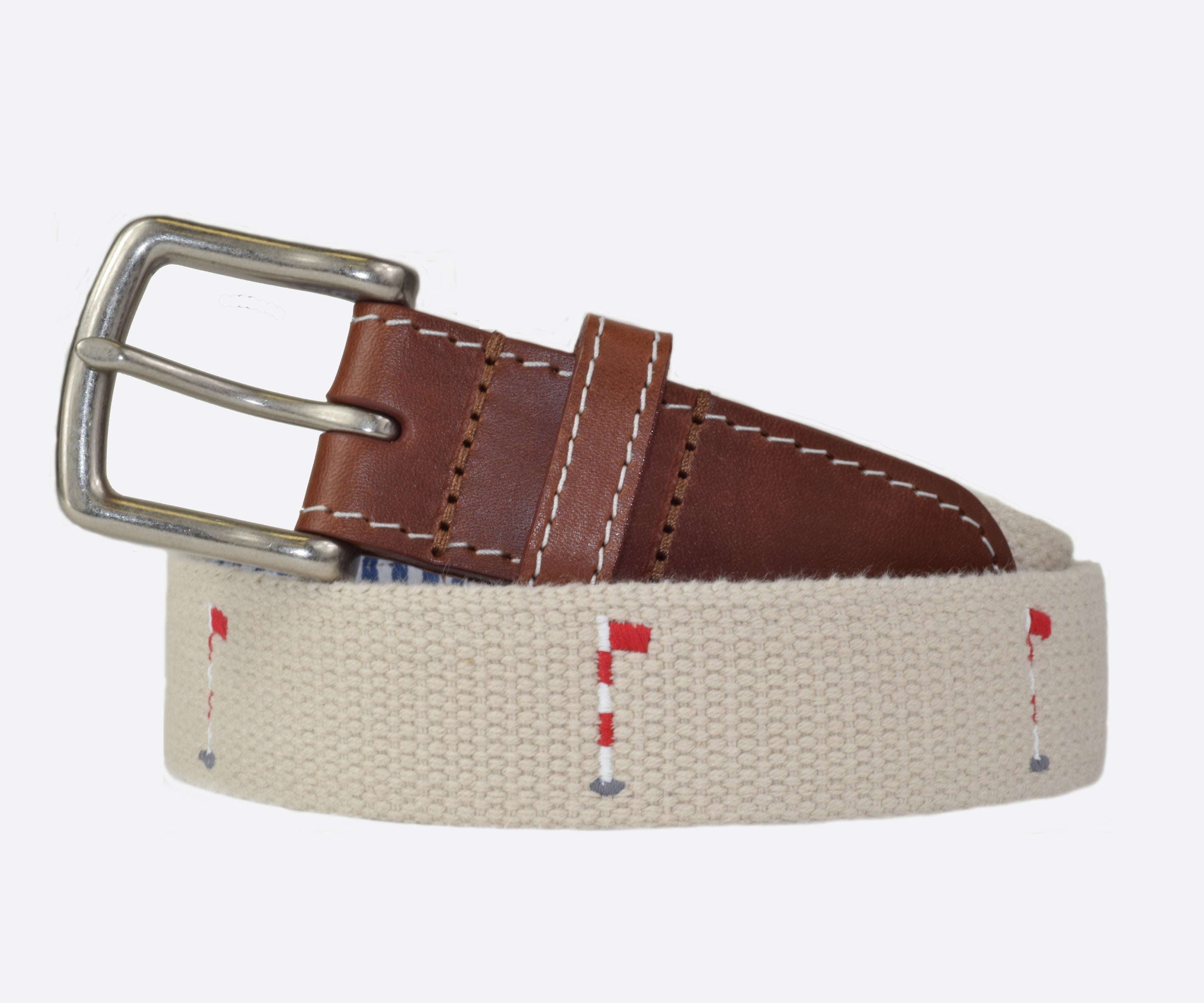 Emergency Nine Golf Belt (stone)