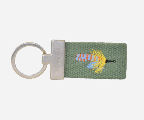 Fly Fishing Key Fob (sage)