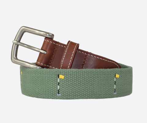 Front Nine Golf Belt (sage)