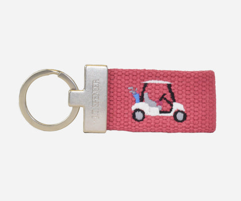 Golf Cart key fob (nantucket red)