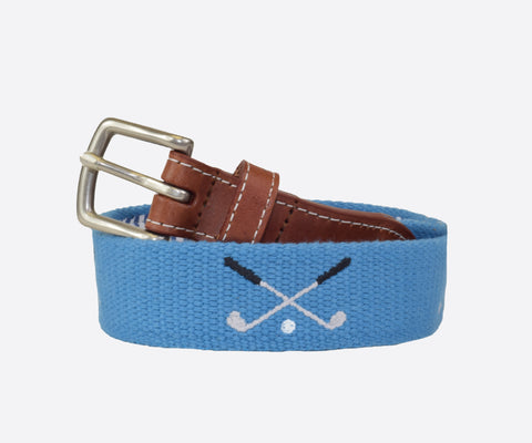 Youth Golf Clubs Belt (marine blue)