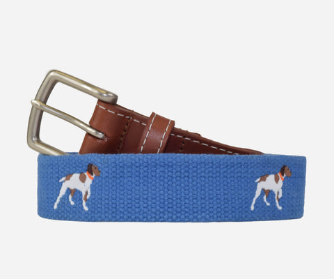 Pointer dog (German shorthair) Belt (sapphire)