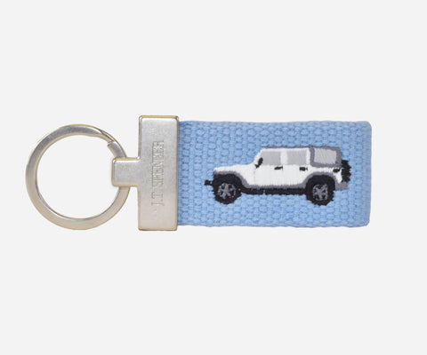 Jeep Key Fob (tarheel blue)