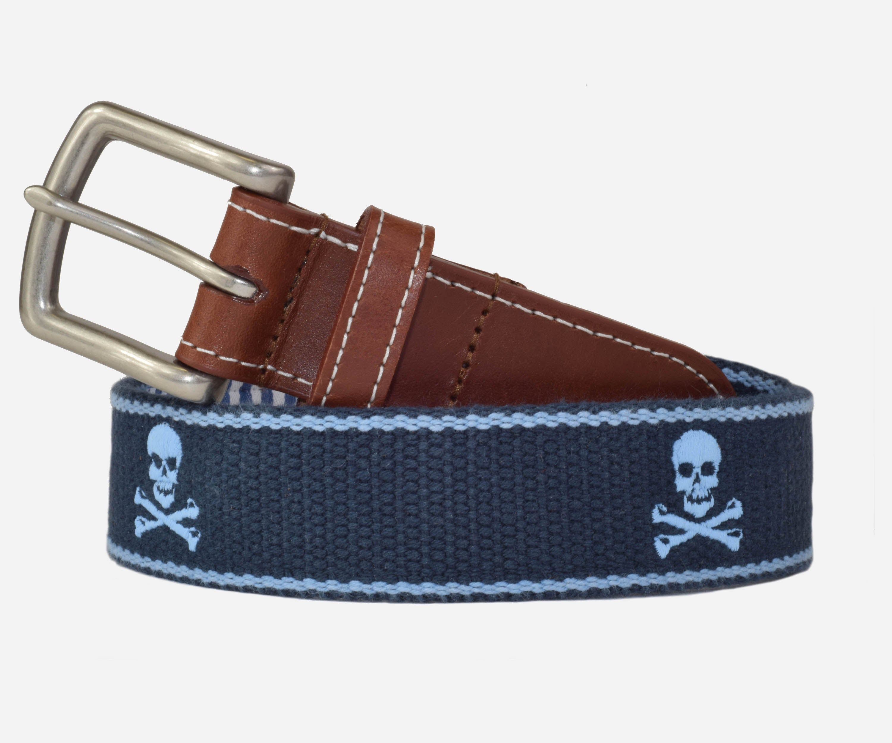 Jolly Roger (Patriot navy with tarheel blue)