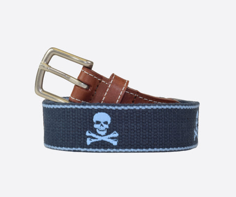Youth Jolly Roger Belt (patriot navy/cottage blue)