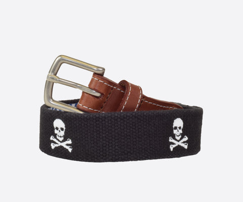 Youth Jolly Roger Belt (black)