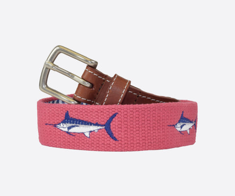 Youth Marlin Belt (nantucket red)