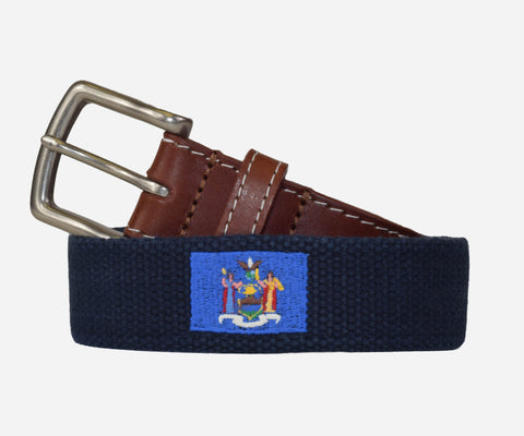 New York State Flag Belt (patriot navy)