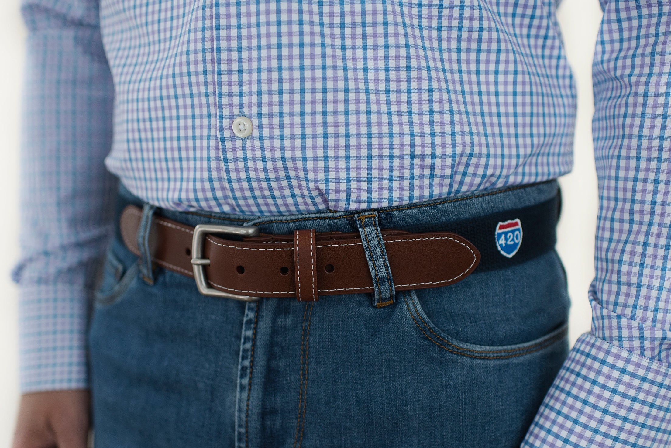 Route 420 Belt (patriot navy)