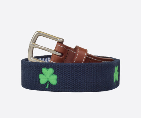 Youth Shamrock Belt (patriot navy)
