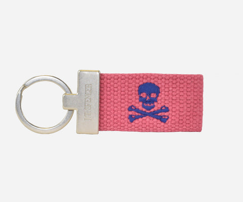 Jolly Roger key fob (nantucket red)