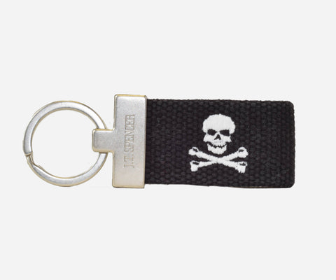 Jolly Roger key fob (black)