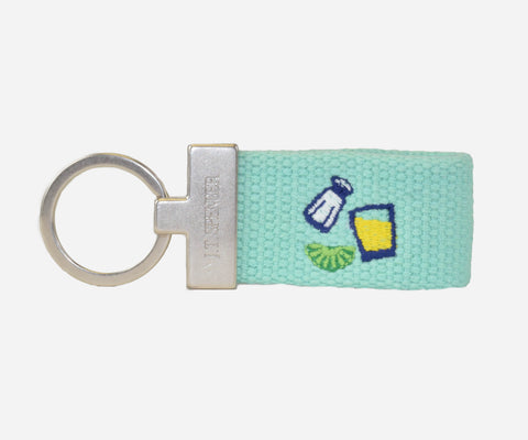 Tequila key fob (teal)
