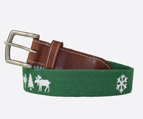 Ugly Christmas Sweater Belt (Erin Green)