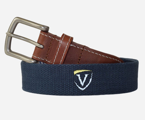 Youth Veritas Belt Two Color Logo (patriot navy)