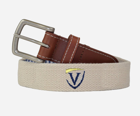Veritas Belt Two Color Logo (stone)