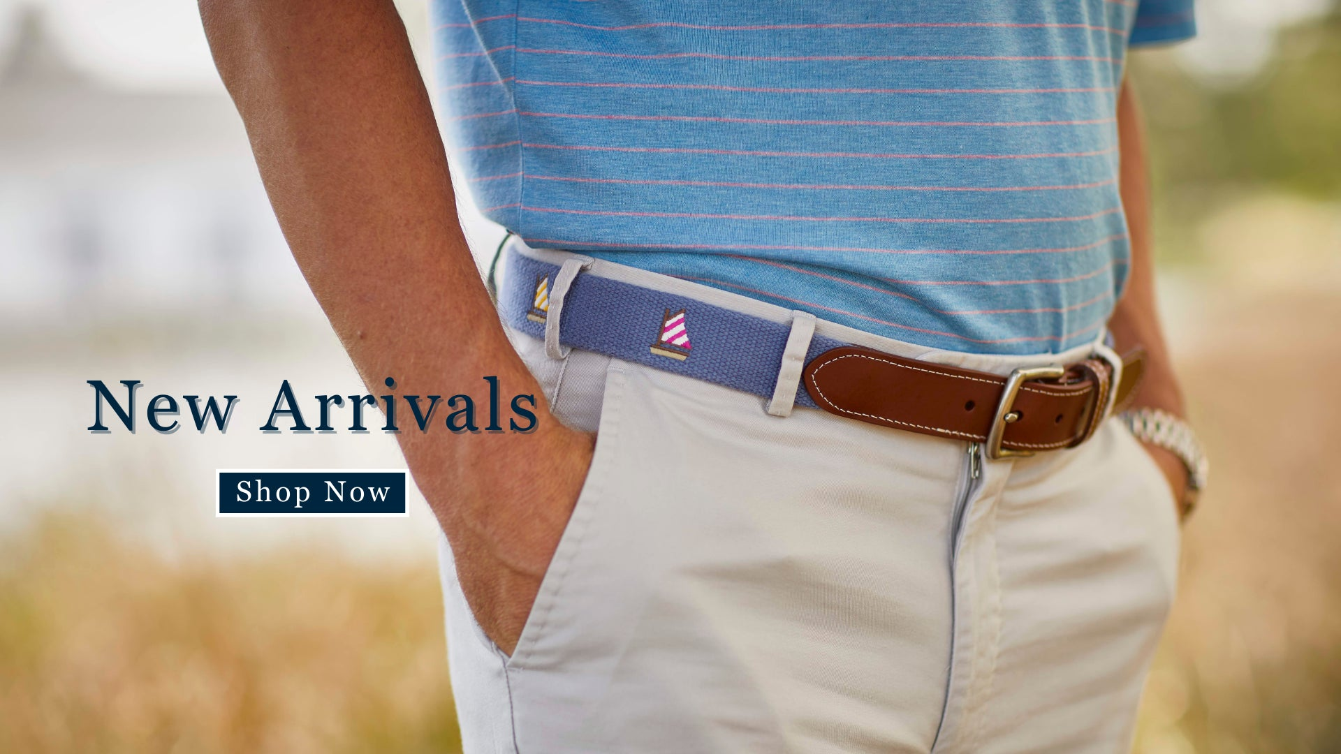 Hunting Embroidered Belts