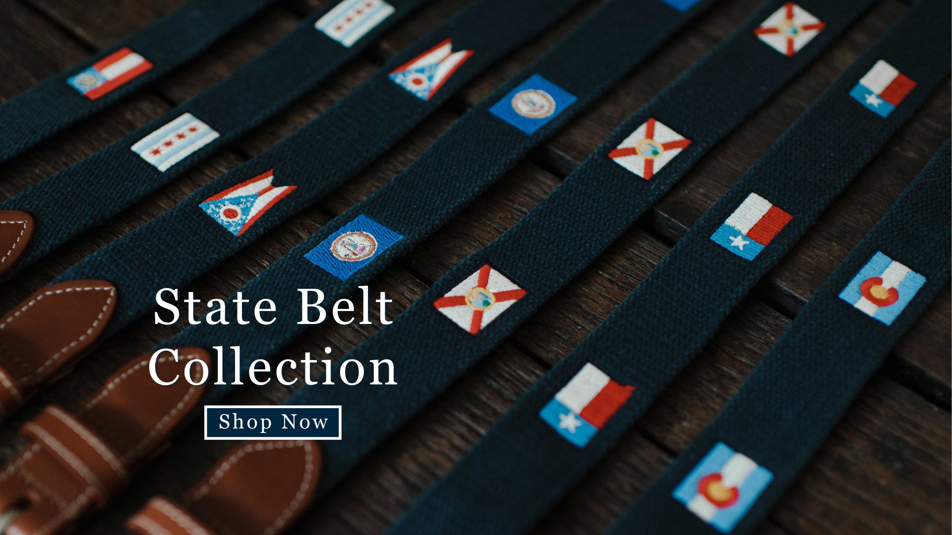State Flag Belts