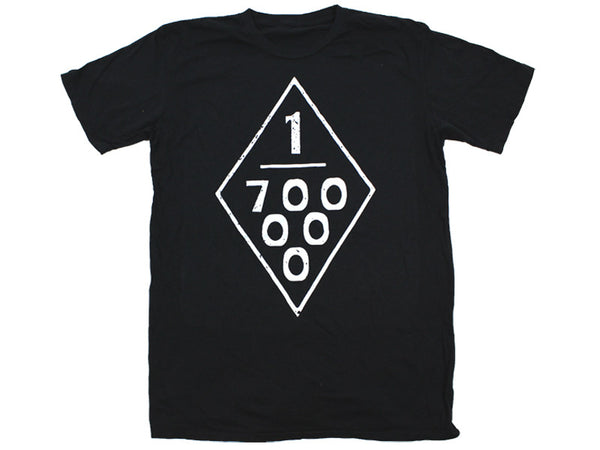 Black 700,000 Rednecks Tee