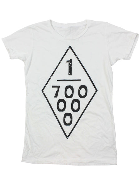 White 700,000 Rednecks Tee