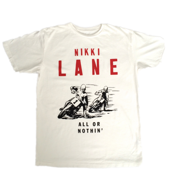 White All or Nothin' Tee