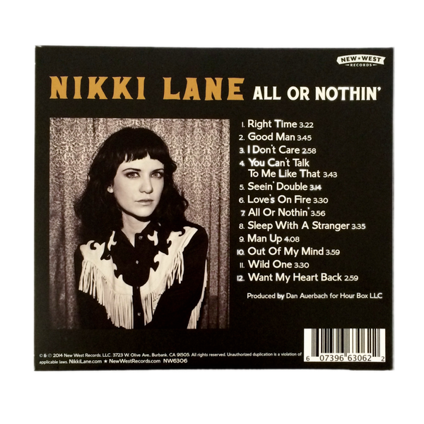 All or Nothin' CD
