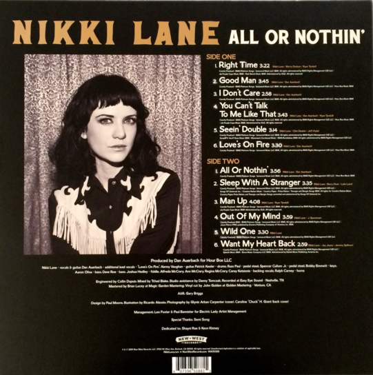 All or Nothin' Vinyl