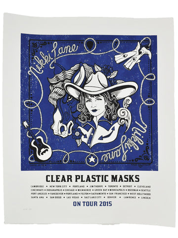 Clear Plastic Masks Poster