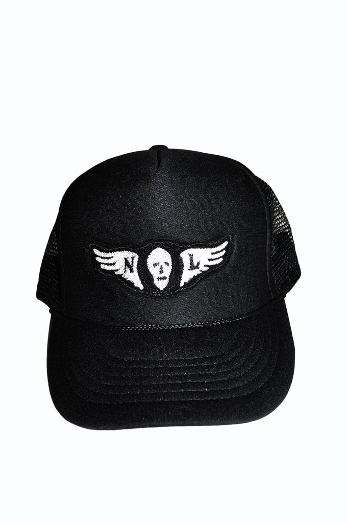 Flying Skull Trucker Hat