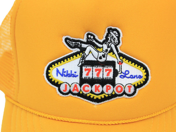 Gold Jackpot Trucker Hat