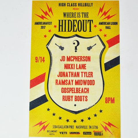 Where Is The Hideout Poster