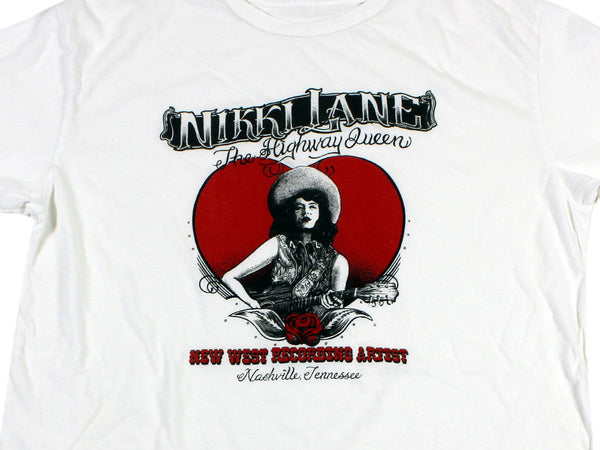 Red Highway Queen Tee